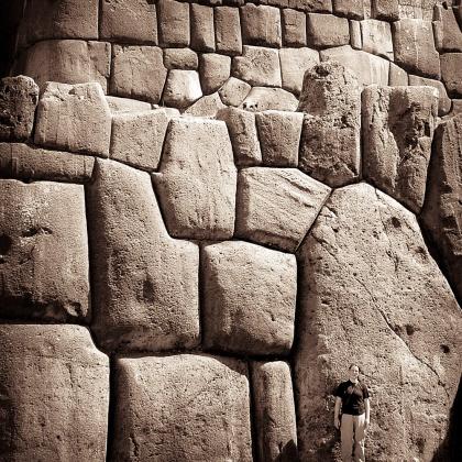 Ruins outside of Cuzco, Peru.
